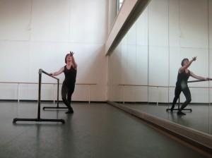 Me, dancing ballet.